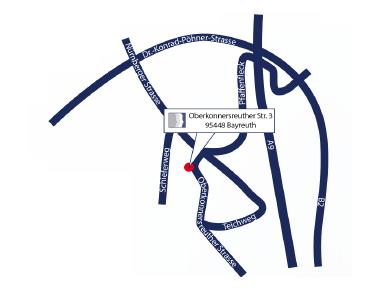 Map Bayreuth