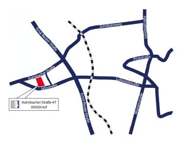 Map Hof
